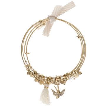 Lonna & Lilly Bird Bracelet Set - Worn Gold Tone