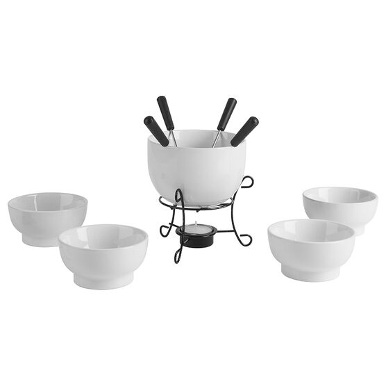 Trudeau Chocolate Fondue Set -11 piece