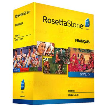 Rosetta Stone V4 French Level 1, 2, & 3
