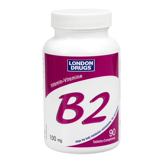 London Drugs Vitamin B2 - 100mg - 90's