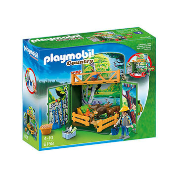 Playmobil Country - My Secret Forest Animals Play Box