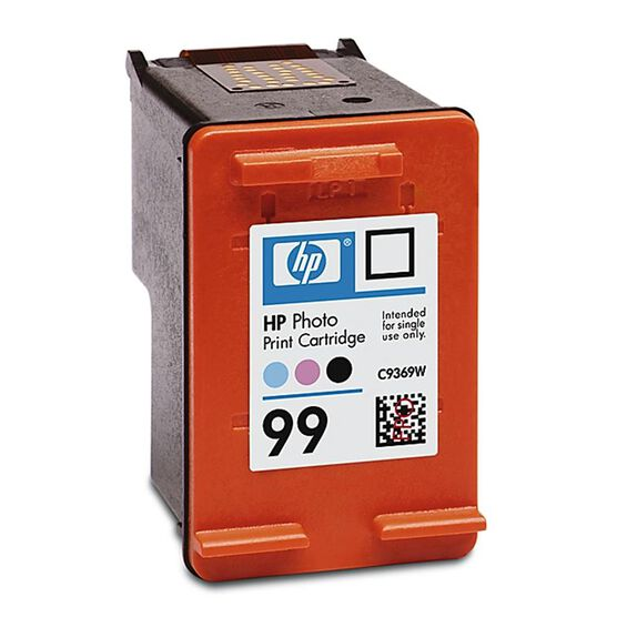 HP 99 Vivera Inkjet Print Cartridge - Colour Photo - C9369WC140