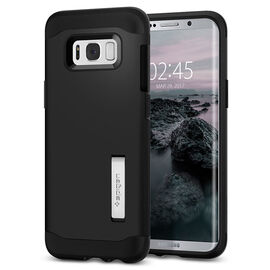 Spigen Slim Armor Case for Samsung Galaxy S8 Plus - Black - SGP571CS21122