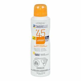 Ombrelle Continuous Spray Sport Sunscreen - SPF 45 - 122g