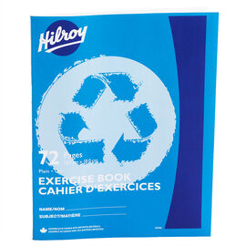 Hilroy Exercise Book Plain - 72 page - Assorted