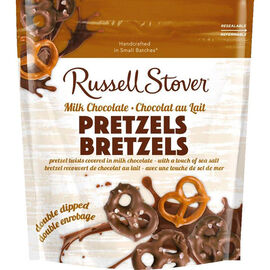Russell Stover Milk Chocolate Pretzel with Sea Salt - 156g
