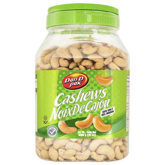 Dan-D Pak Salted Cashews -  600g