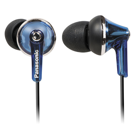 Panasonic In-Ear with Mic - Blue - RPTCM190A