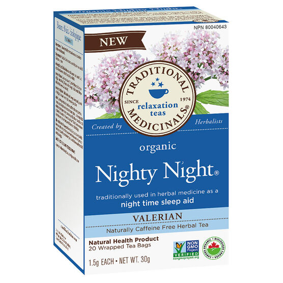 Traditional Medicinals Herbal Tea - Organic Nighty Night - 20's