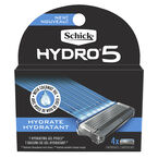 Schick Hydro 5 Razor Refills - 4 cartridges