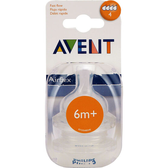 Avent Reusable Nipple - Fast Flow
