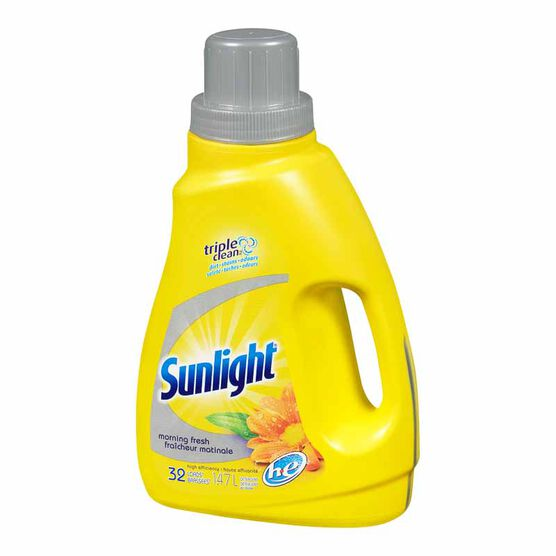 Sunlight 2X Ultra HE Liquid Laundry Detergent - 1.47L