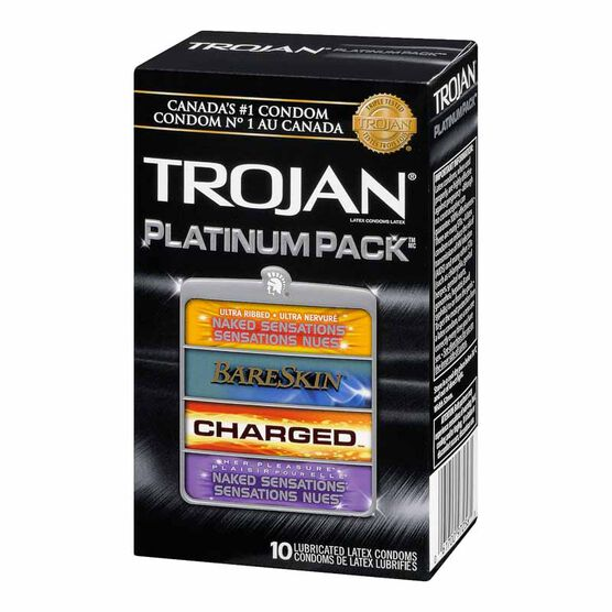 Trojan Platinum Condoms - 10's