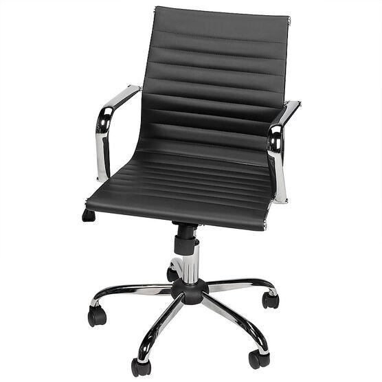 London Drugs Metal Office Chair - Black