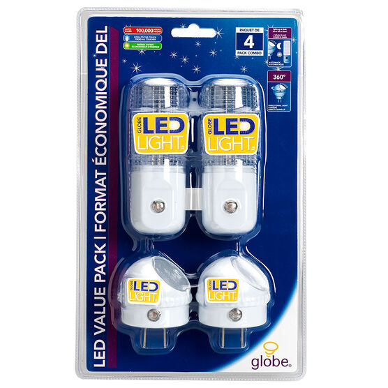 Globe LED Night Light - 88204