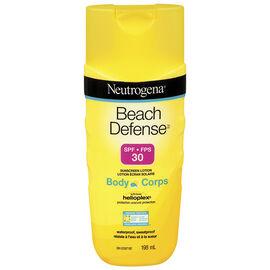 Neutrogena Beach Defense Sunscreen Lotion SPF 30 - 198ml