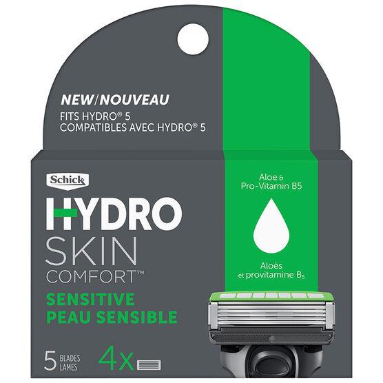 Schick Hydro 5 Razor Refills - Sensitive - 4's