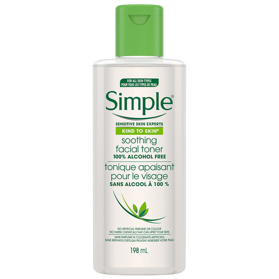 Simple Kind To Skin Soothing Facial Toner - 200ml