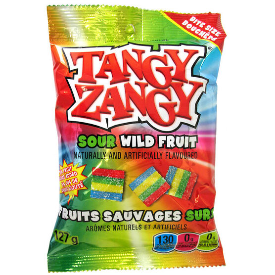 Tangy Zangy Belt  - Sour Wild Fruit - 140g