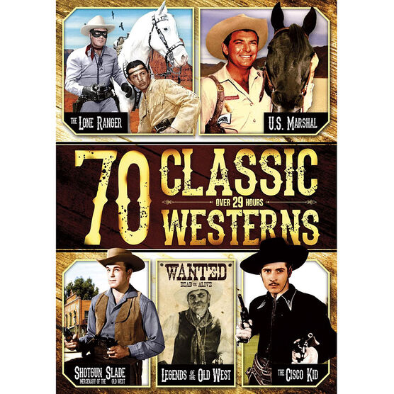 70 Classic Western Stories - DVD