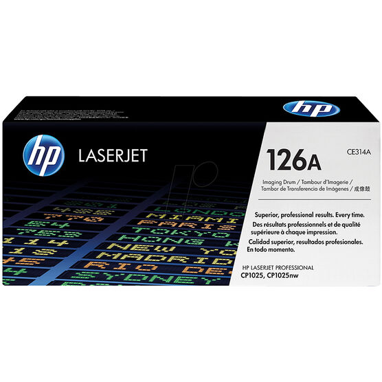 HP LaserJet 126A Imaging Drum Toner Cartridge - Black & Color - CE314A