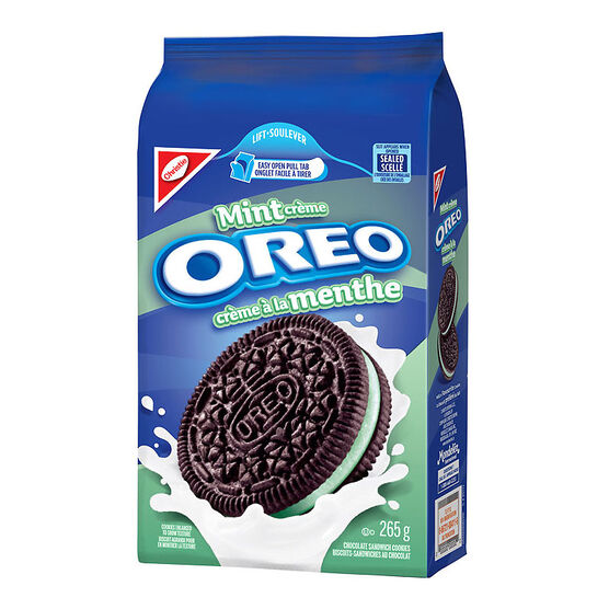 Christie Oreo Cookies - Mint - 265g