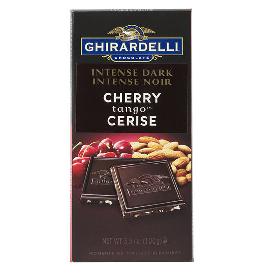 Ghirardelli Intense Dark Chocolate Bar - Cherry Tango - 100g
