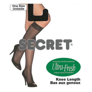 Secret Knee Length Sheer Sock - Naturelle