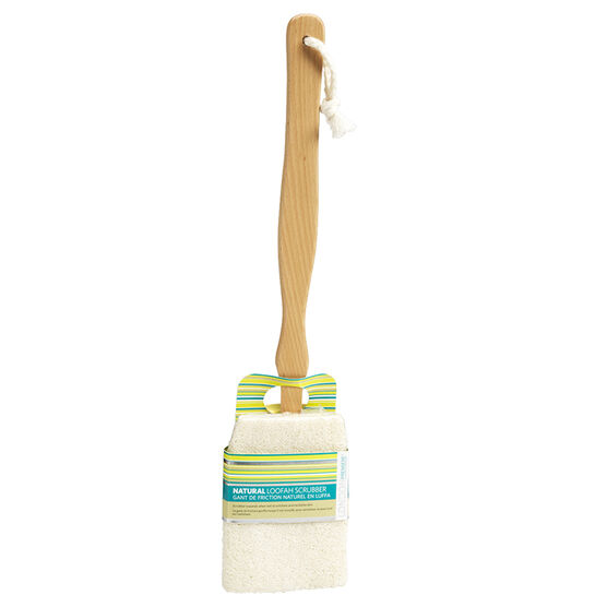 London Premiere Natural Loofah Scrubber