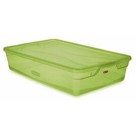 Rubbermaid Cleverstore Latch Box - Lime Green - 38L