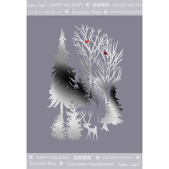 Unicef Christmas Cards - Winter - 12 count - Assorted