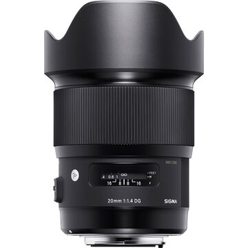 Sigma Art 20mm F1.4 DG HSM for Canon - A20DGHC