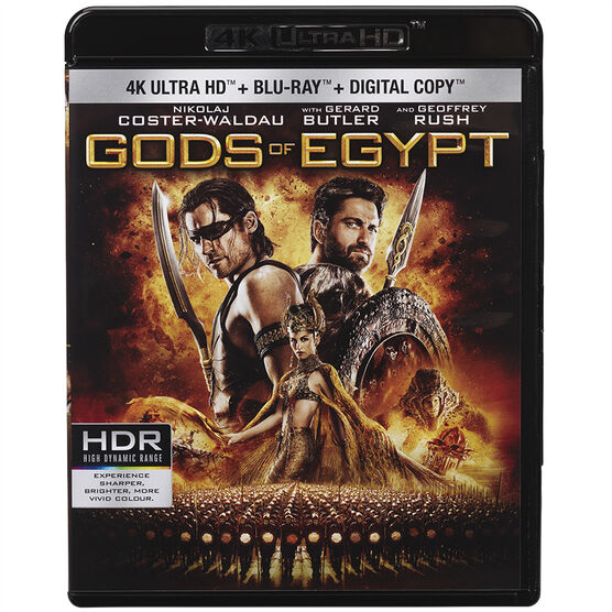Gods of Egypt - UHD Blu-ray