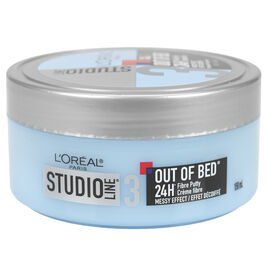 L'Oreal Studio Out of Bed Fibre Putty - Messy Effects - 150ml