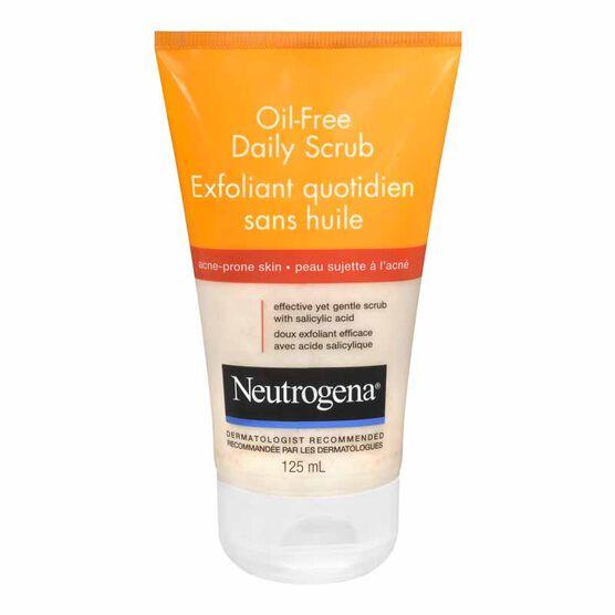 Neutrogena Oil-Free Daily Scrub - 125ml