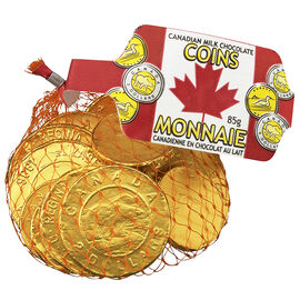 Chocolate Gold Coins in Net - 85g