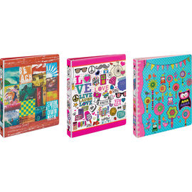 Avery Economy Collage Binder - Assorted - 1""