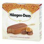 Haagen Dazs Take Home Ice Cream Bars - Chocolate Peanut Butter - 3 x 88ml