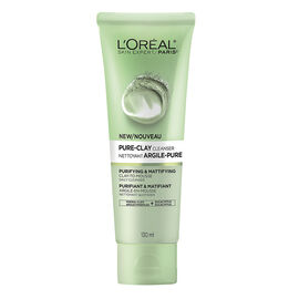 L'Oreal Pure-Clay Cleanser - Purifying & Mattifying - 140ml