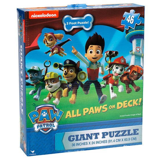 Paw Patrol Floor Puzzle.