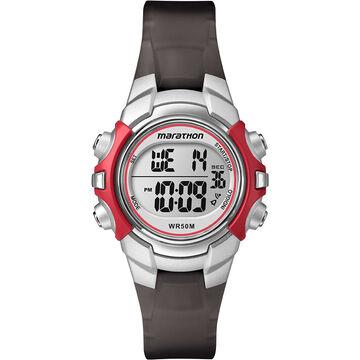 Timex Marathon Watch - Black/Red - T5K80770