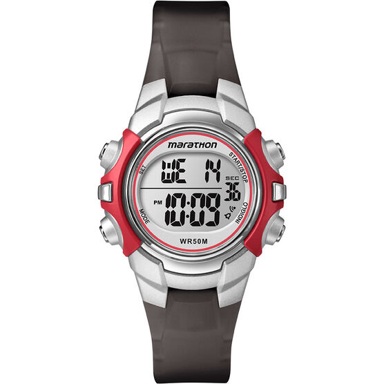 Timex Marathon Watch - Black/Red - T5K80770