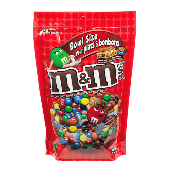 M&M Candy - Peanut Butter - 400g