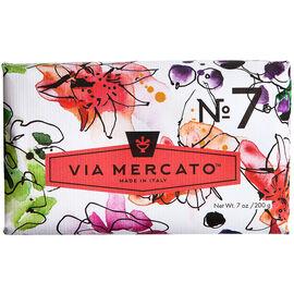 Via Mercato Soap - Peach Fig Blossom & Rose - 200g