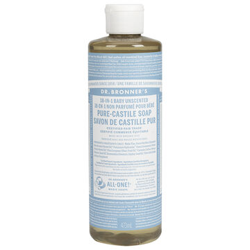 Dr. Bronner's Liquid Pure-Castile Soap - Baby - 473ml