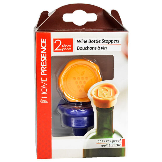 Home Presence Silicone Stoppers - 2 piece