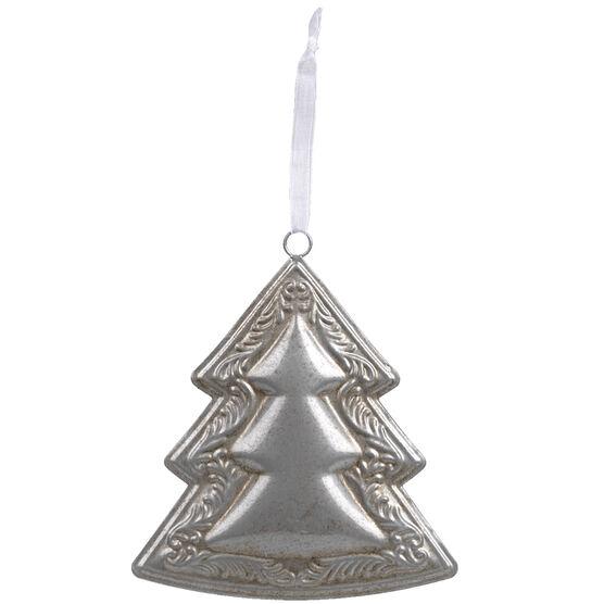 Winter Wishes Metal Tree Ornament - 5in - XLD11201505GFOB
