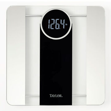 Taylor Reverse LCD Scale - Black/White - 7570407EF