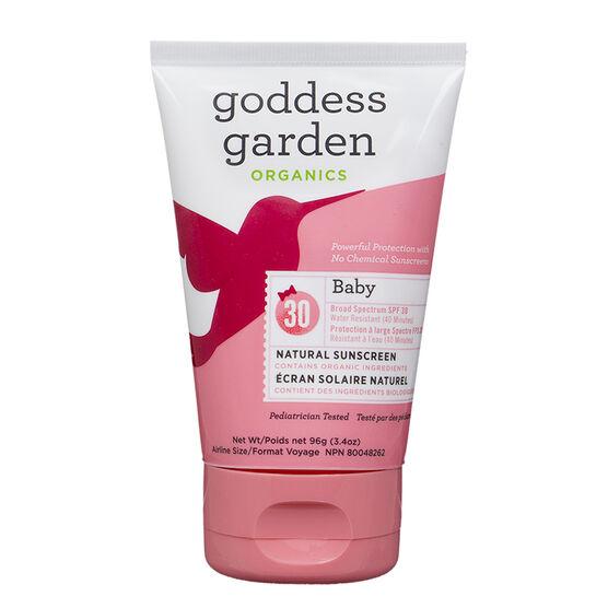 Goddess Garden Organics Sunny Baby Natural Sunscreen Spf30 100ml London Drugs