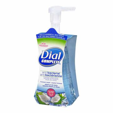 Dial Complete Antibacterial Foaming Hand Wash - Coconut Water - 221ml